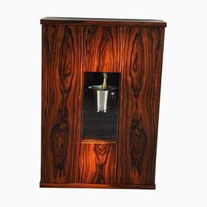 Art Deco Rosewood Bar Cabinet