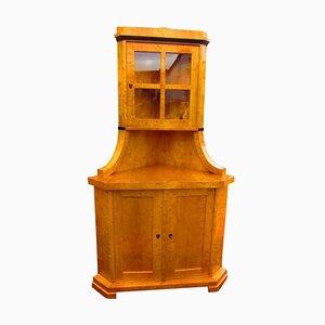 Biedermeier Corner Cupboard, 1830s
