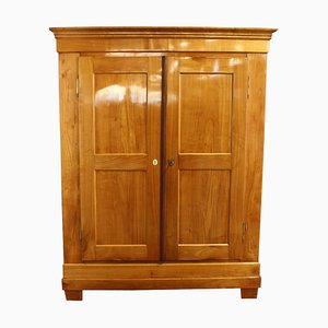 Biedermeier Cherrywood Hall Cabinet