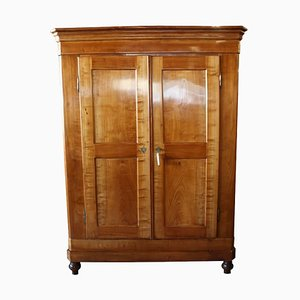 Biedermeier German Cherrywood Cabinet