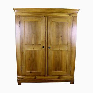 Biedermeier Bright Brown Walnut Cabinet