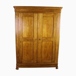 Biedermeier Oak Cabinet, 1860s