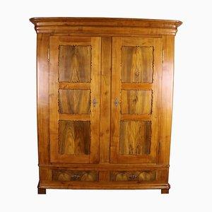 Biedermeier Cherrywood Wardrobe, 1860s