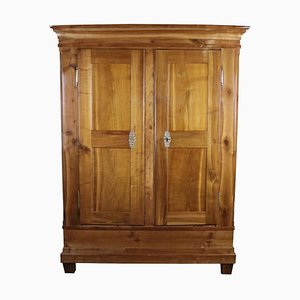 Antique Biedermeier Cherry Cupboard or Cabinet from Kraichgau, 1850s