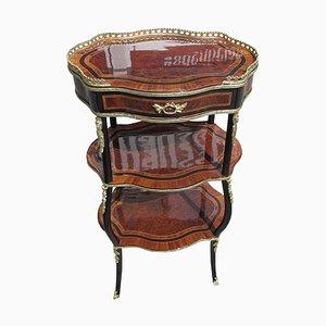 Antiker Palisander Beistelltisch im Napoleon III Stil