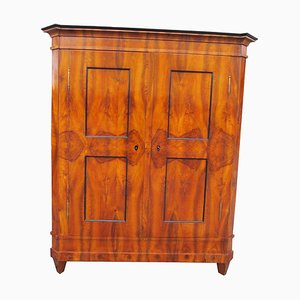 Antique Swiss Louis XVI Wardrobe or Armoire