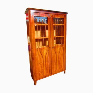 Antique Austrian Book Cabinet or Vitrine, 1840s