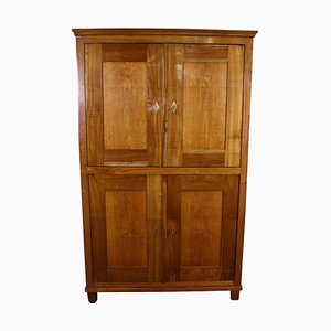 Antique Biedermeier Cherry Bookcase or Cabinet