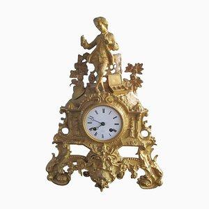 Orologio da camino di Henry Marc, metà XIX secolo