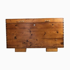 Antique Pine Farmhouse Style Chest