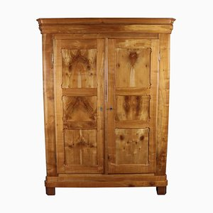 Antique Biedermeier Cherry Cabinet, 1860s
