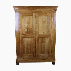 Antique Biedermeier Cherry Cabinet
