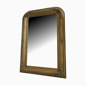 Antique Biedermeier Gilt Wall Mirror