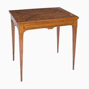 Antique French Classicist Rosewood Game Table