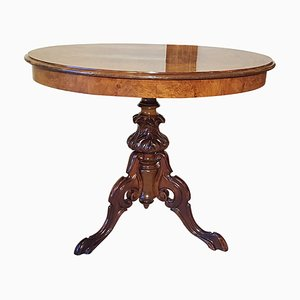 19th-Century Mahogany Side Table