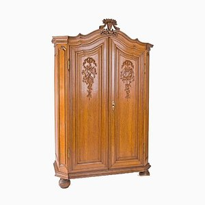 Classicist Oak Cabinet, 1780s