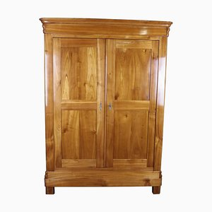 Antique Biedermeier Cherry Wardrobe