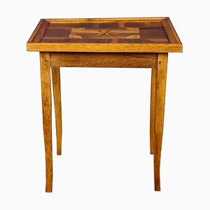 Antiker Spieltisch mit Einlegearbeiten