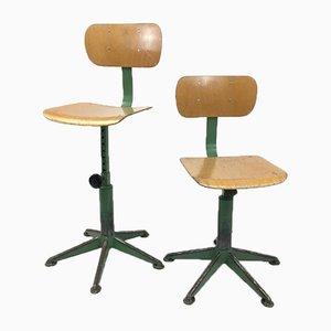 French School Desk Chair, 1960s