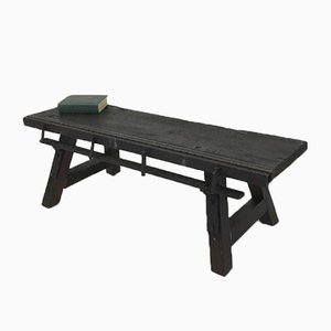 Vintage Industrial Workbench Coffee Table, 1950s