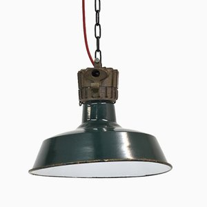 Vintage Industrial Ceiling Lamp from Sammode, 1940s