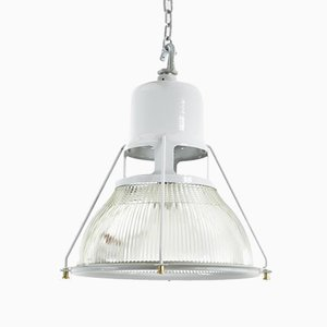 Industrial Pendant Lamp from Holophane, 1950s
