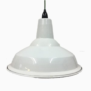 White Factory Lamp from Benjamin Cysteel