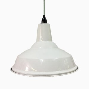 White Factory Lamps from Benjamin Cysteel