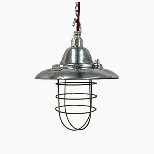 Vintage Polished Pendant Lamp from Walsall