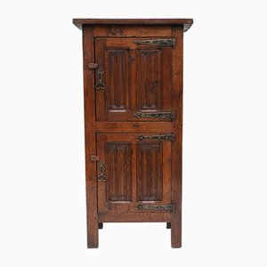 Antique Arts and Crafts Oak Cabinet, 1900s