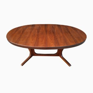 Scandinavian Dining Table from Baumann, 1950s