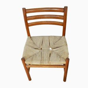 Skandinavische Vintage Beistellstühle, 6er Set