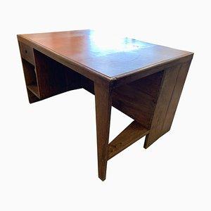 Chandigarh Schreibtisch von Pierre Jeanneret, 1950er