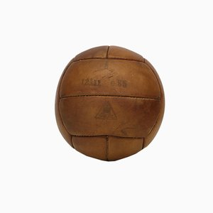 Vintage Leather 1kg Medicine Ball