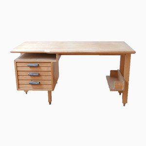 Desk by Guillerme et Chambron, 1960s