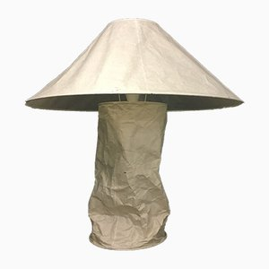 Rice Paper Lampampe Table Lamp from Ingo Maurer, 1980s