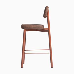 Residence 65 Red Brick Bar Stool by Jean Couvreur