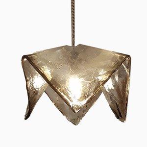 Murano Glas Deckenlampe von Carlo Nason für Mazzega, 1960er