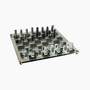 Vintage French Lucid Chess Game, 1970s