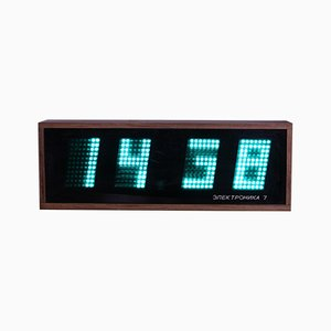 Clock from Elektronika 7, 1991