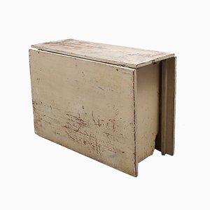Antiker Gustavianischer Klappbarer Esstisch, 1850er