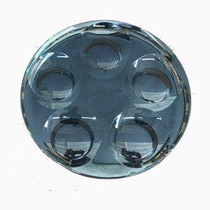 Cuenco de cristal de Fontana Arte, años 60