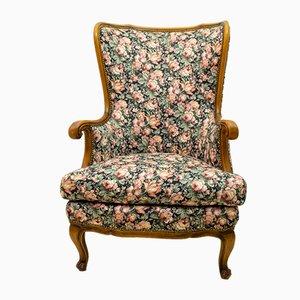 Mid-Century Modern Walnut Lounge Chair, 1960s