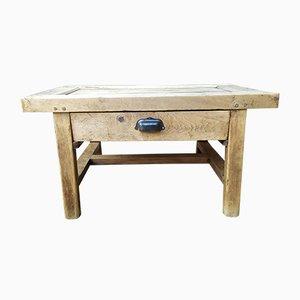 Tavolino da caffè antico industriale