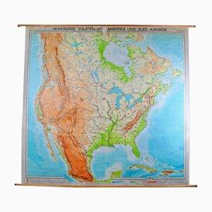 Carte des États-Unis par Georg Westermann, 1966