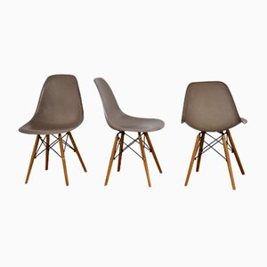 DSW Dining Chairs by Charles & Ray Eames for Herman Miller, 1970s, Set of 6