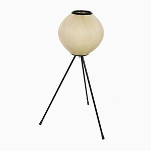 Small Japanese Tripod Floor Lamp, 1950s