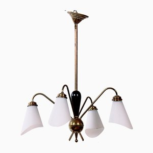Mid-Century French Ceiling Lamp