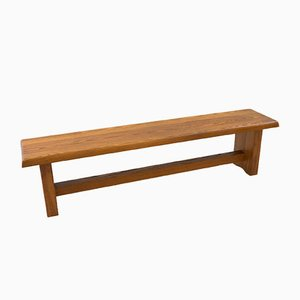 Elm S14 Bench by Pierre Chapo, 1970s