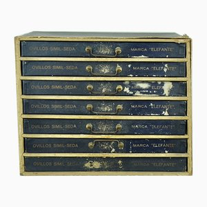 Kartonschublade von Fabra & Coats, 1960er